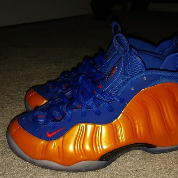 a9086890ce7 Nike shoes new york knicks foamposite with box negotiable poshmark jpg  580x580 New york knicks foamposites